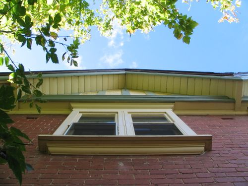Timber eaves